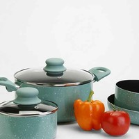 Speckled 7-Piece Cookware Set- Mint One