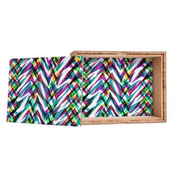 Sarah Bagshaw Multi Chevrons Storage Box
