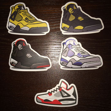 Air Jordan 4 Stickers