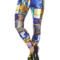 Womens Times Square Performance Leggings