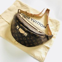 LV Louis Vuitton Women's Shopping High-Quality Trendy Leather Tote F