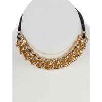 Thick Gold Chain Choker