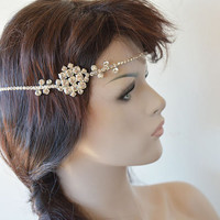 Wedding Headpiece, Wedding Headband, Bridal Headpiece, Bridal Hair Accessory, Hair Jewelry