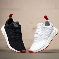 Beauty Ticks Adidas Nmd R2 Primeknit Boost Sport Running Shoes Classic Casual Shoes Sneakers