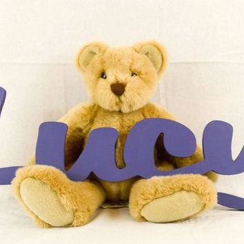 - Kids Personalized Wooden Name Signs - Children's Name Wall Decor, Wooden Letters, Wooden Names, Wall Names, Wall Letter