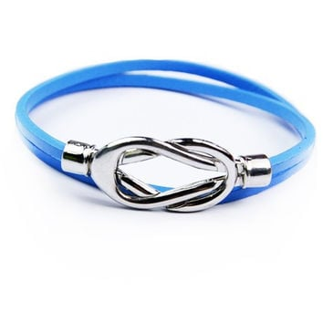 Gift Awesome Great Deal Shiny Hot Sale Stylish New Arrival Leather Men Accessory Cool Bracelet [6526725955]