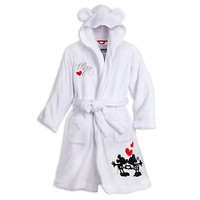 Mickey and Minnie Mouse Hooded Robe for Women | Disney Store
