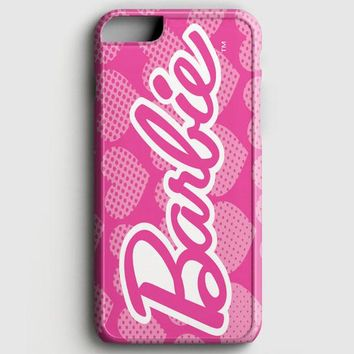 Barbie Pink Logo Cover iPhone 7 Case