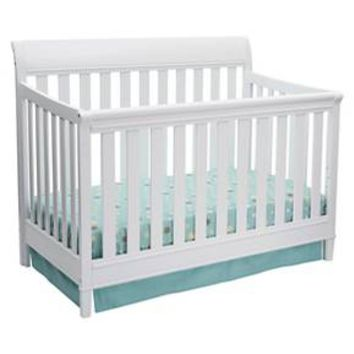 Delta Children Haven 4-in-1 Convertible Crib - White : Target
