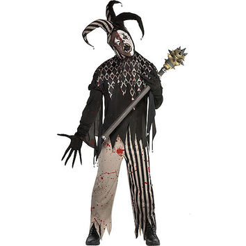 Mens Twisted Jester Costume