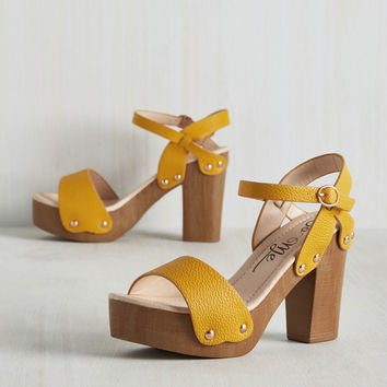 Sun One Like You Heel | Mod Retro Vintage Heels | ModCloth.com