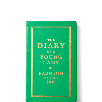 Kate Spade Pencil It In 12-Month Agenda Green ONE