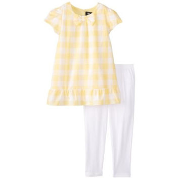 ABS by Allen Schwartz Checkered Ruffled Pant Outfit