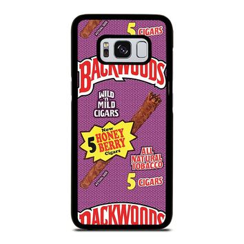 ONLY BACKWOODS CIGARS Samsung Galaxy S8 Case