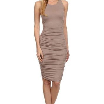 Bodycon Racerback Tank Dress