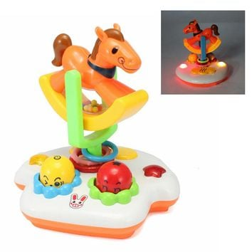 New Baby Toys Musical Happy Carousel