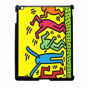 Keith Haring Pop Art Iphone Leaftunes iPad 3 Case