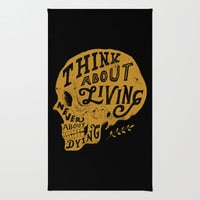 Think About Living Rug by Norman Duenas