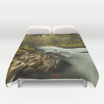 Brook Duvet Cover by Gallery One