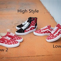 Supreme x Louis Vuitton x Vans Skateboarding Shoes 36-44