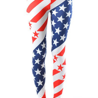 US Olympic Plus Size Leggings
