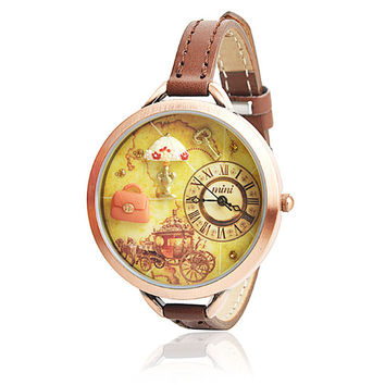 Vintage Polymer Clay Embellished Watch