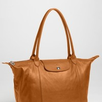Longchamp 'Le Pliage Cuir' Leather Tote