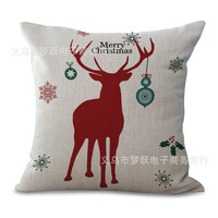 Christmas Pillows, Accent Pillow Covers Christmas Reindeer