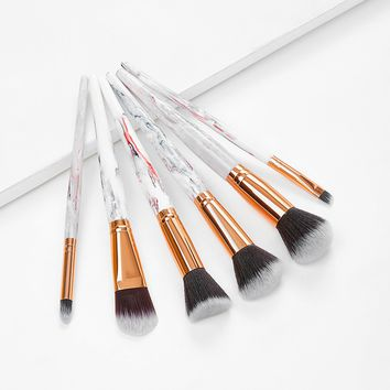 Watercolor Makeup Brush Set