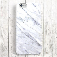iPhone 6 Case, iPhone 6 Plus Case, iPhone 5S Case, iPhone 6, iPhone 5C Case, iPhone 4S Case, iPhone 4 Case - White Marble