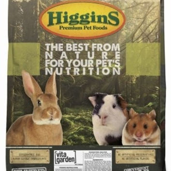 SMALL ANIMAL - FOOD: BULK - VITA GARDEN RAT/MOUSE - 22LB - HIGGINS PET FOOD - UPC: 46706556526 - DEPT: SMALL ANIMAL PRODUCTS