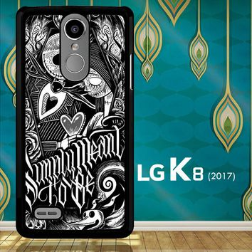 Jack And Sally Muertitos The Nightmare Before Christmas F0874 LG K8 2017 / LG Aristo / LG Risio 2 / LG Fortune / LG Phoenix 3  Case