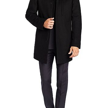 'The Donal' | Wool and Cashmere Coat by BOSS