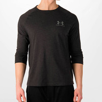 Men's Under Armour Tri-Blend 3/4 Sleeve Length T-Shirt