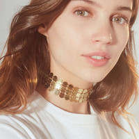 Luv Aj Triple Disco Fever Choker Necklace | Urban Outfitters