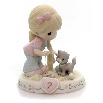 Precious Moments Age 7 Growing In Grace Figurine