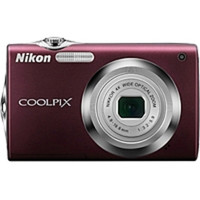 Nikon Coolpix S3000 12.0 Megapixels Digital Camera - 4x Optical Zoom - 4x Digital Zoom - 4000 x 3000 - 2.7-inch LCD Display - Plum