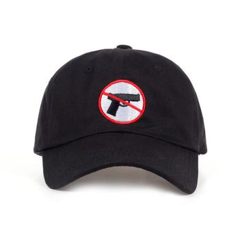 Stop gun violence no guns dad hat