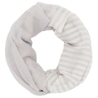 Striped Infinity Scarf by Charlotte Russe