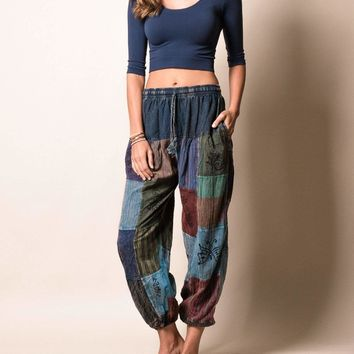 Come Together Patchwork Pants