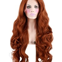 Copper Crush Lace Front Wig