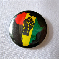 Black Power Pinback Button, Black Power Pin, African American, Black Lives Matter, Africa Magnet, Africa Button, Raised Fist, Black Rights