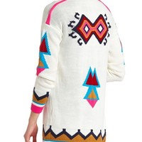 OPEN AZTEC CARDIGAN