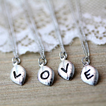 valentine's day gift ideas for bffs - best tiny gold letter necklace products on wanelo