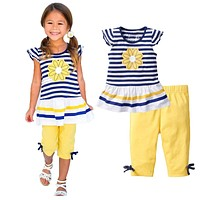 Baby Girl Clothing Sets Newborn Baby Clothes Infant Baby Girl Dress Kids Clothing