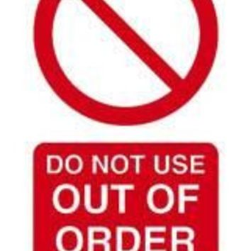 Tie tag, Do not use out of order - Pack of 10