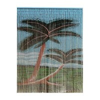 Bamboo 54 5236 Bamboo Double Palm Tree Curtain | ATG Stores
