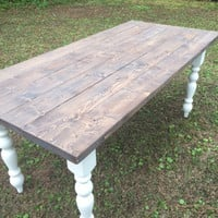 Cozy Farmhouse Table - Dining Table - LOCAL SALE Only