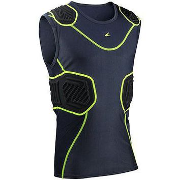 Champro Bull-Rush Compression Shirt Integrated Football Youth and Adult Padded