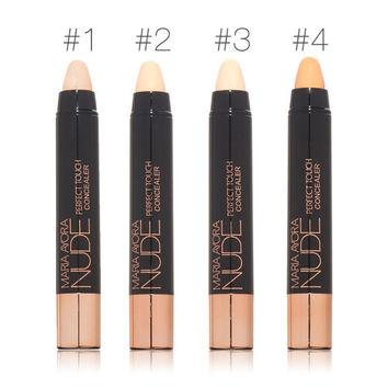 MARIA AYORA Professional Face Makeup 4 Nude Colors Optional Concealer Liquid Brush Convenient Rotary Concealer